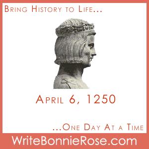 Timeline worksheet April 6, 1250 Crusades