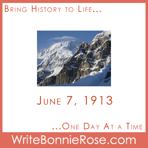 June 7, 1913, Mt McKinley