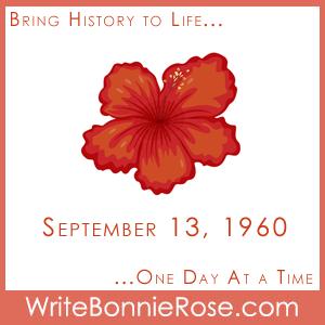 Timeline Worksheet, September 13, 1960, Hawaii