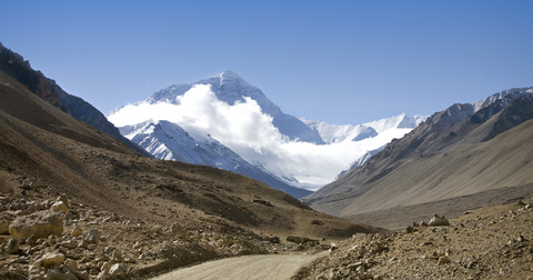 Road to Mt. Everest