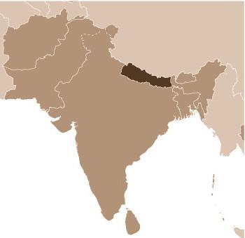 Nepal broad map Factbook-edited 2