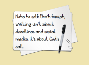 Note to Self in 2014