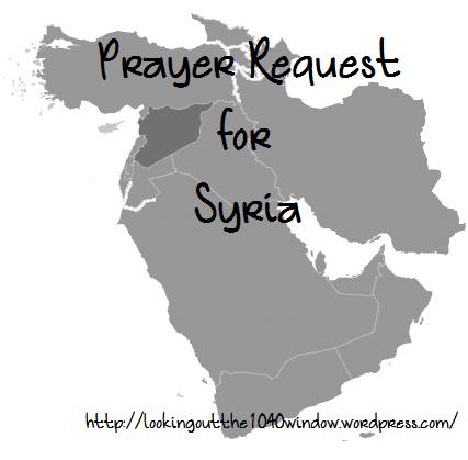Syria-Prayer Request