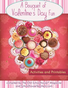 Free Valentine's Day Bouquet of Homeschooling Resources