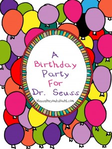 Happy Birthday, Dr. Seuss–Plus Teachable Timeline 1904