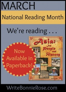 National Reading Month-paperback image
