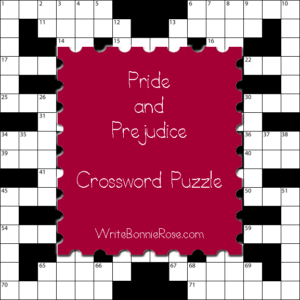 Pride and Prejudice Crossword3