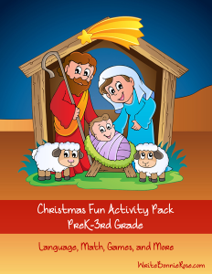 NEW Subscriber Freebie-Christmas Fun Activity Pack