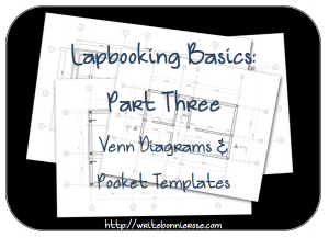 How to Write for Homeschoolers: Lapbooking Basics Part Three-Venn Diagrams and Pocket Templates