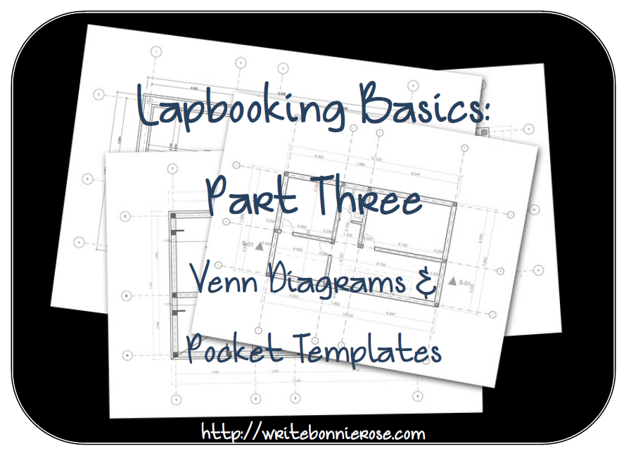 How to Write for Homeschoolers: Lapbooking Basics Part Three-Venn ...
