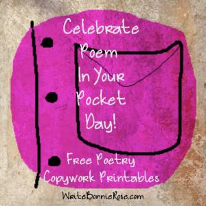 Poem In Your Pocket Day