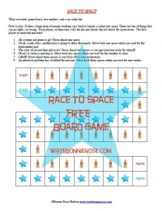Race to Space Board Game3