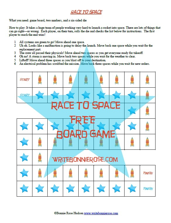 Timeline Worksheet: May 27, 1961, Race to Space Board Game ...