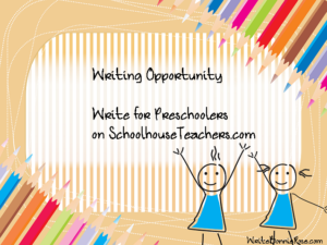 Writers Wanted: Preschool Printables Writing Opportunity