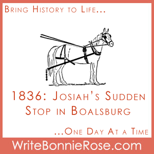 Short Stories for Kids: Josiah's Sudden Stop in Boalsburg, 1836