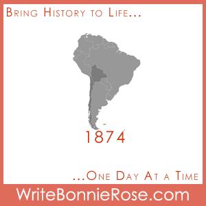 Timeline Worksheet: 1874, Bolivia and Chile