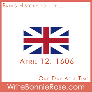 Timeline worksheet April 12, 1606 Union Jack