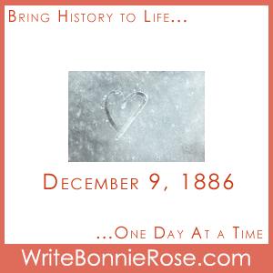 Timeline worksheet December 9, 1886, Clarence Birdseye