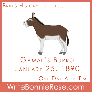 Short stories for kids, Gamal's Burro, 1890