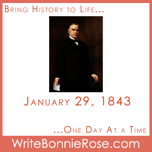 Timeline worksheet January 29, 1843 William McKinley
