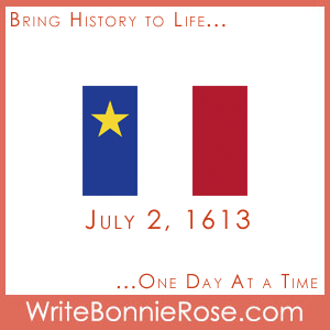 Timeline worksheet July 2, 1613 Acadians