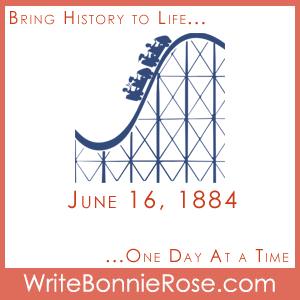 Timeline worksheet June 16, 1884, Roller Coasters Board Game