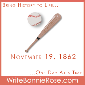 Timeline Worksheet: November 19, 1862, Billy Sunday Copywork