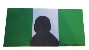 Silhouette Prayer Card Craft for Children