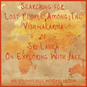 Unreached People Groups-Vishwakarma of Sri Lanka