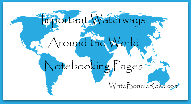 Timeline Worksheet-George Washington Goethals and Important Waterways Notebooking Pages