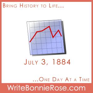 July 3, 1884, Dow Jones