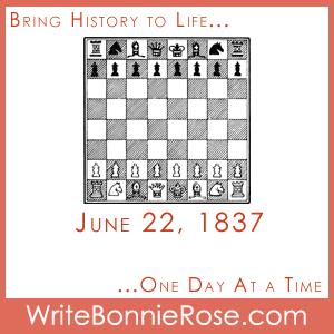June 22, 1837 Chess Master