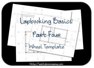How to Write for Homeschoolers Lapbooking Part Four Wheel Template