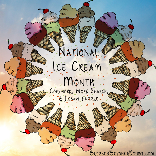 National Ice Cream Month and 1984 Timeline