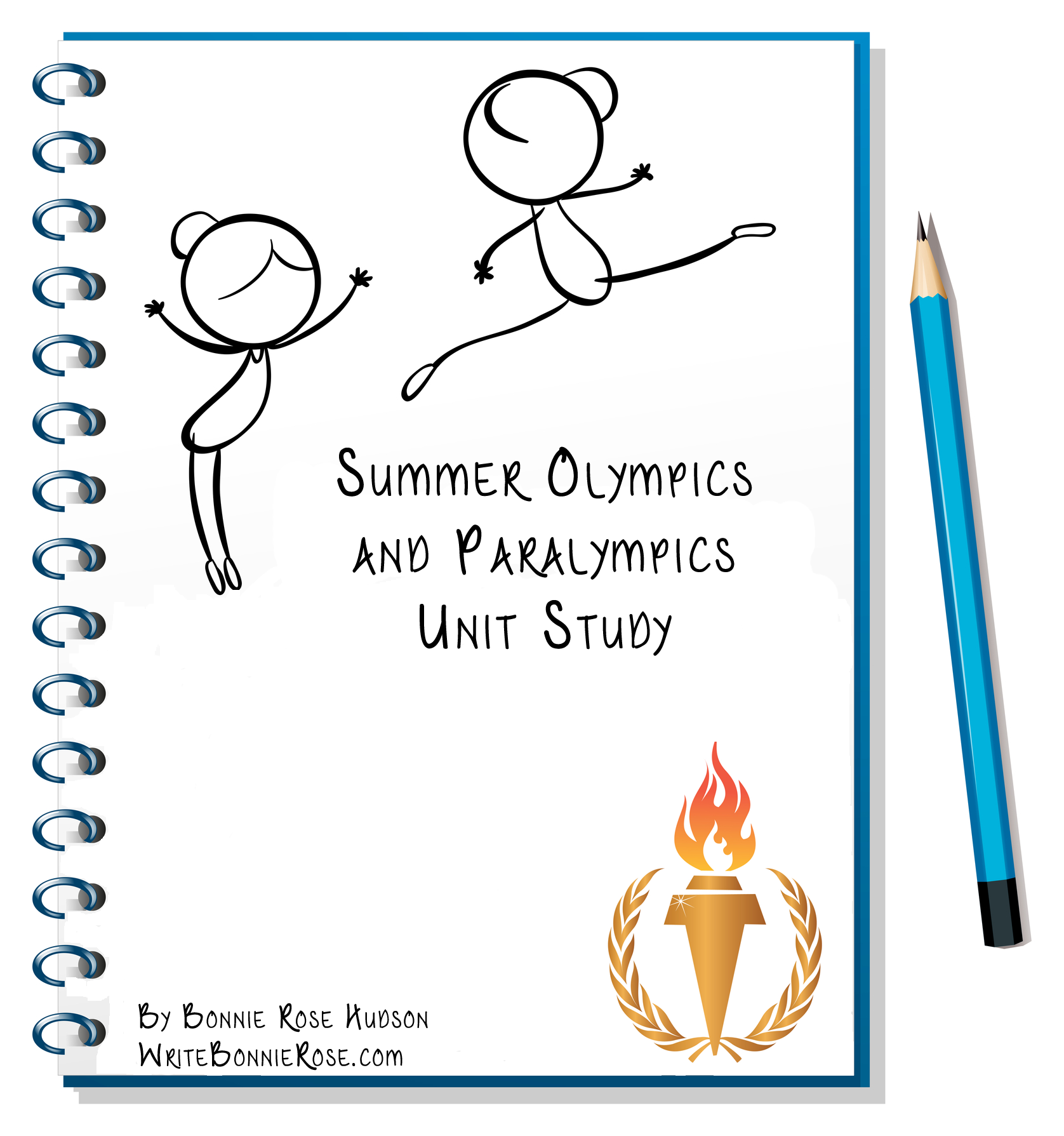 Summer Olympics and Paralympics Unit Study (e-book)