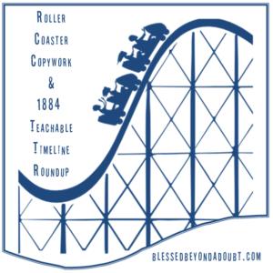 Roller Coaster Copywork