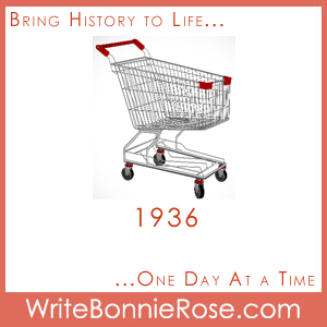 1936, Shopping Cart