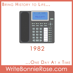 Timeline Worksheet: Mysterious Math-Caller ID, 1982
