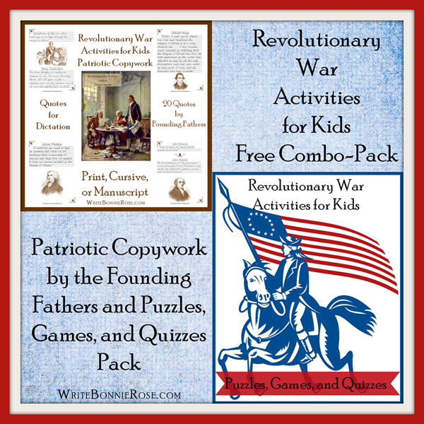 American Revolution Combination Pack6