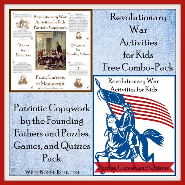 American Revolution Combination Pack6