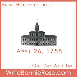 Timeline Worksheet, April 26, 1755, University of Moscow