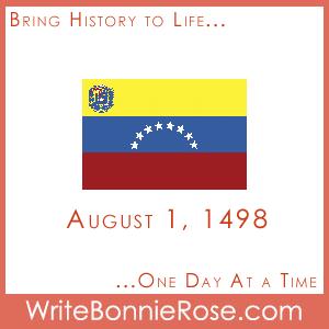 Timeline Worksheet, August 1, 1498, Venezuela Animal Who Am I