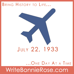 July 22, 1933, Wiley Post
