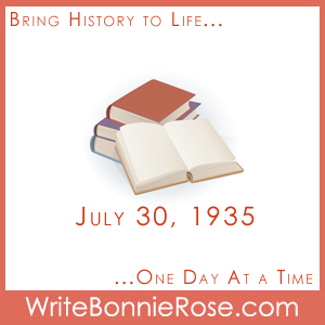 Timeline Worksheet: July 30, 1935, Paperback Book Revolution