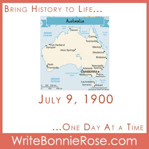 July 9, 1900, Australia