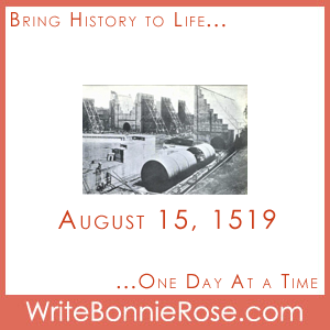 Timeline Worksheet: August 15, 1519, Panama City