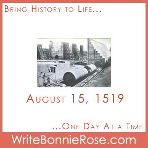 Timeline Worksheet August 15, 1519, Panama