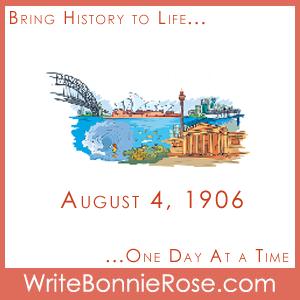 August 4, 1906, Sydney