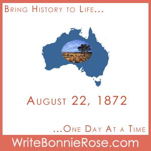 Timeline Worksheet August 22, 1872, Australian Vegetation Word Find