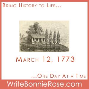 Timeline Worksheet, March 12, 1773, Chicago history timeline quiz